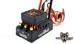 CASTLE COPPERHEAD 10 - 16.8V WP SENSORED/SENSORLESS ESC - 2S/3S/4S
