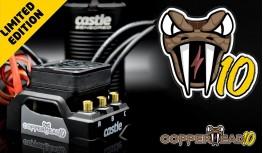 CASTLE COPPERHEAD 10 1412-3200KV LIMITED EDITION SCT COMBO 2WD/4WD SC TRUCKS