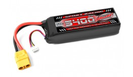 TEAM CORALLY - POWER RACING 50C - 5400MAH - 3S - 11,1V - XT-90 - SEMI-SOFT CASE