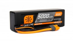 SPEKTRUM 11.1V 5000MAH 3S 100C SMART LIPO, HARDCASE, IC3
