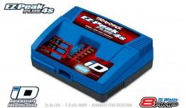 2981G - TRAXXAS EZ-PEAK PLUS 4S 8A 75W CHARGER AUTO ID (2S/3S/4S) & NIMH BATTERY PACKS