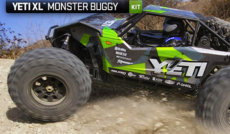 AXIAL YETI™ XL MONSTER BUGGY 1:8 4WD KIT