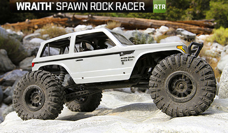 AXIAL WRAITH™ SPAWN ROCK RACER
