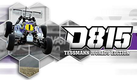 HB D815 Tessmann Worlds Edition Nitro Buggy
