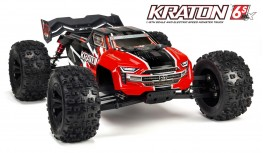 ARRMA KRATON 6S BLX 1:8 4WD BRUSHLESS SPEED MONSTER TRUCK RTR (RED)
