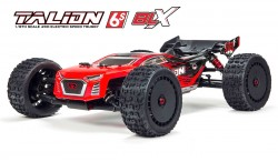 ARRMA TALION 6S BLX 1:8 4WD SPEED TRUGGY WITH SPEKTRUM RADIO RTR (RED/BLACK)