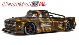 ARRMA INFRACTION ALL-ROAD STREET BASH 6S BLX 1:7 4WD RESTO-MOD TRUCK AVC RTR