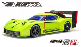 ARRMA VENDETTA 4X4 3S BLX 1:8 4WD SPEED BASH RACER RTR (GREEN)