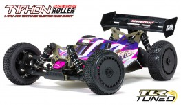 ARRMA TYPHON ROLLER 1:8 4WD TLR TUNED RACE BUGGY (PINK/PURPLE)