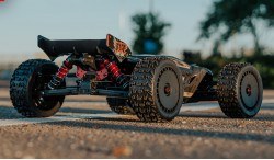 ARRMA TALION 6S BLX 1:8 4WD EXTREME BASH SPEED TRUGGY RTR BLACK (ARA8707)