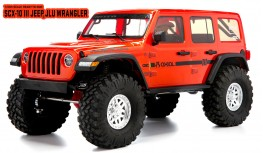 AXIAL SCX10 III 1:10 4WD JEEP WRANGLER RUBICON JLU RTR (ORANGE)