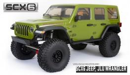 AXIAL SCX6 JEEP WRANGLER UNLIMITED RUBICON 1:6 4WD JLU ROCK CRAWLER RTR (GREEN)