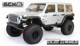 AXIAL SCX6 JEEP WRANGLER UNLIMITED RUBICON 1:6 4WD JLU ROCK CRAWLER RTR (SILVER)