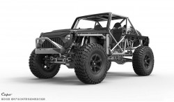 CAPO RACING JKMAX 1:8 4WD JEEP POISON SPYDER KIT + LED KIT (EU VERSION)