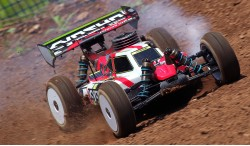KYOSHO INFERNO MP9 TKI4 1:8 4WD GP BUGGY READYSET T1 (RED)