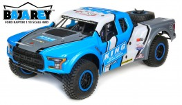 LOSI FORD RAPTOR BAJA REY 1:10 4WD DESERT TRUCK BRUSHLESS RTR (KING SHOCKS)