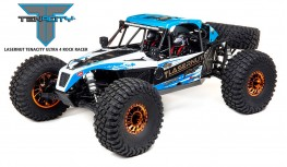 LOSI LASERNUT U4 2.2 1/10 4WD BRUSHLESS SMART ESC RTR BLUE (LOS03028T1)