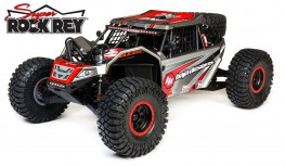 LOSI SUPER ROCK REY 1:6 4WD BRUSHLESS ROCK RACER RTR AVC BAJA DESIGNS (GREY)