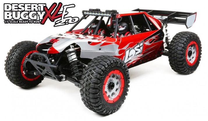 LOSI DBXL-E 2.0 1:5 4WD DESERT BUGGY SMART RTR (LOSI BODY)