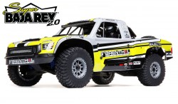 LOSI SUPER BAJA REY 2.0 1/6 4WD 8S BRUSHLESS DESERT TRUCK RTR (BRENTHEL)