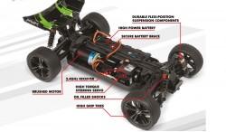 MAVERICK PHANTOM XB 1:10 4WD BRUSHED BUGGY RTR (150075)