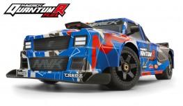 MAVERICK QUANTUMR FLUX 4S 1:8 4WD RACE TRUCK (BLUE/RED)