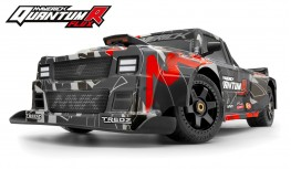 MAVERICK QUANTUMR FLUX 4S 1:8 4WD RACE TRUCK (GREY/RED)
