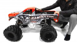 PRIMAL RC RAMINATOR 1:5 4WD GAS 49CC TWO STROKE MONSTER TRUCK RTR