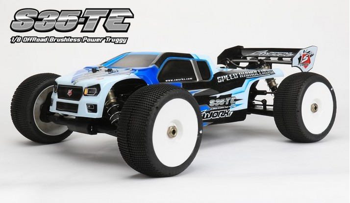 SWORKZ S35-TE 1:8 BRUSHLESS TRUGGY PRO KIT
