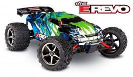 TRAXXAS E-REVO 1:16 4WD BRUSHED MONSTER TRUCK