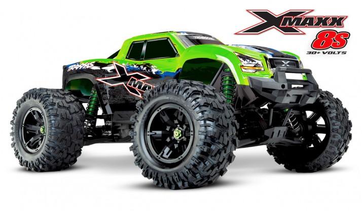 TRAXXAS X-MAXX 8S 4WD MONSTER TRUCK