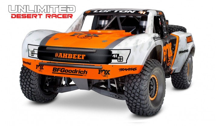 TRAXXAS UNLIMITED DESERT RACER PRO-SCALE 4X4 DESERT RACING TRUCK