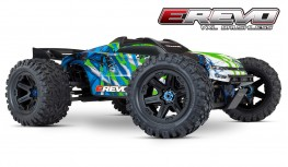 TRAXXAS E-REVO VXL BRUSHLESS 2018 1:10 4WD RACING MONSTER TRUCK