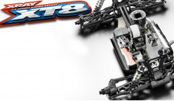 XRAY XT8 SPEC 2018 1:8 NITRO TRUGGY KIT