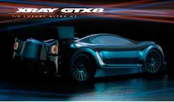 XRAY GTX8 V2 1:8 4WD NITRO ON-ROAD GT CAR KIT