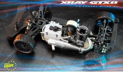XRAY GTX8 V2 1:8 4WD NITRO ON-ROAD GT CAR KIT