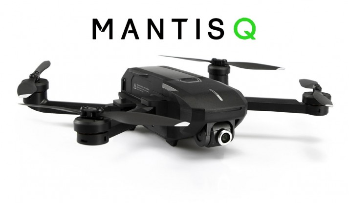YUNEEC MANTIS Q IN COLOR BOX W/REMOTE CONTROLLER, CHARGER, 1 BATTERY, 2 SETS PROPELLERS, USB CABLE (EU PLUG)