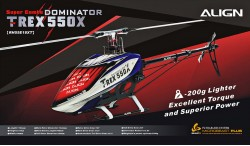ALIGN T-REX 550X DOMINATOR SUPER COMBO DS820M/DS825M (BEAST X)