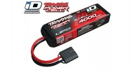 TRAXXAS POWER CELL 4000MAH 11.1V 3-CELL 25C LIPO BATTERY ID (2849X)