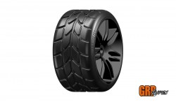 GRP 1:5 TC - W22 RAIN - E EXTRASOFT RAIN - MOUNTED ON BLACK WHEEL - 1 PAIR