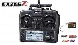 SANWA EXZES ZZ 2,4G FSSH-4T 4CH CAR RADIO + RX-472 RECEIVER