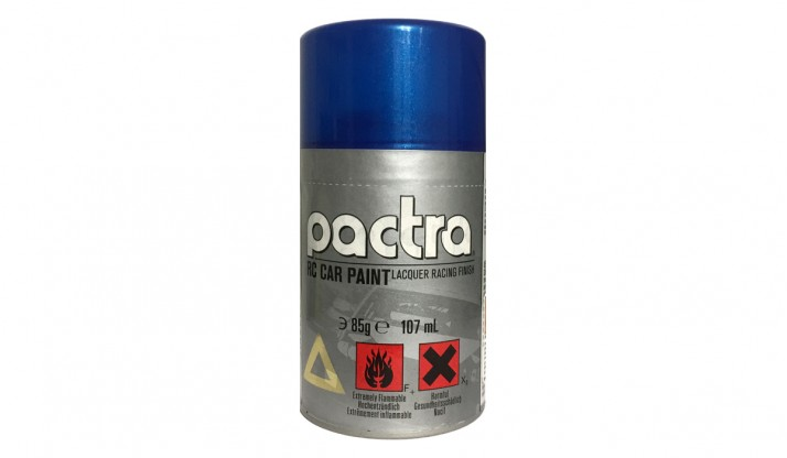 PACTRA RC CAR PAINT FOR LEXAN BODY COLOR 85G: METALLIC BLUE (3OZ)