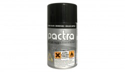 PACTRA RC CAR PAINT FOR LEXAN BODY COLOR 85G: BACKING BLACK (3OZ)