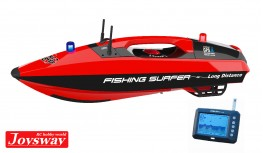 JOYSWAY FISHING SURFER SURFCASTING BAIT BOAT GPS AUTOPILOT BRUSHLESS POWER WITH TOSLON TF300 FISH FINDER RTR
