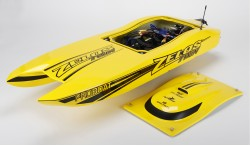 "PROBOAT ZELOS 36"" TWIN BRUSHLESS MOTOR CATAMARAN RTR"