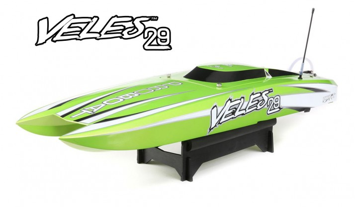 "PROBOAT VELES 29"" BRUSHLESS CATAMARAN 736MM RTR"