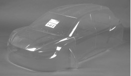503801P - MCD XR-5 MAX LWB RALLY BODY SHELL SET